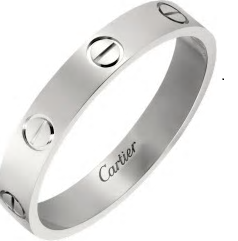 ペアリング人気ブランド Cartire(カルティエ) 女性の憧れのハイブランド/ホワイトゴールド